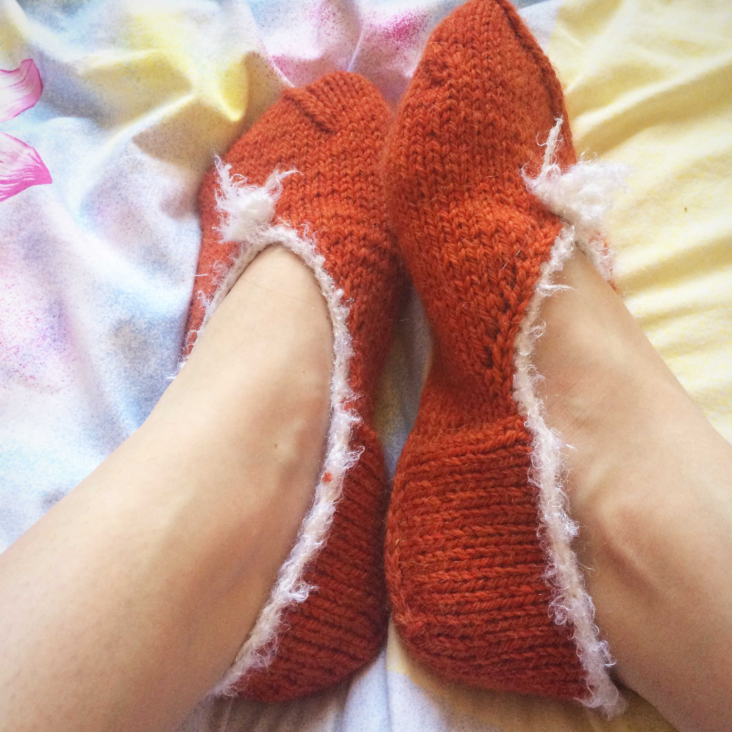 Следочки и носки